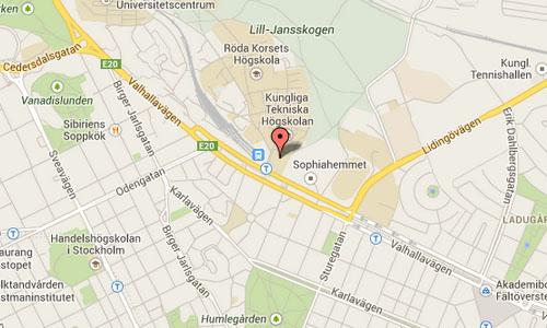 2014 - Lindstedtsvägen Stockholm Maps
