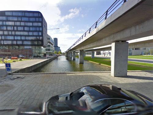 2014 - Ørestad Bloulevard 61-75 in Copenhagen - Denmark (Google Streetview)