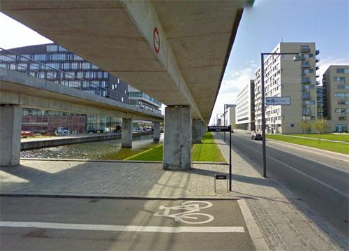 2014 - Ørestad Boulevard 61-75 in Copenhagen - Denmark (Google Streetview)