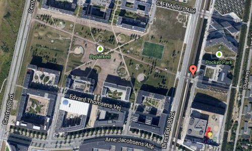 Ørestad Blvd Map2