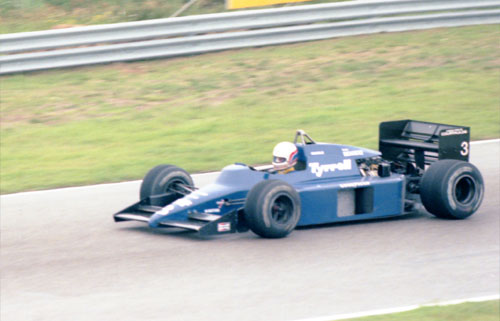 Martin Brundle with Tyrrell-Renault 014