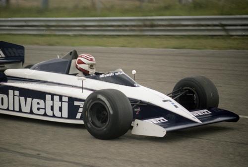 Nelson Piquet with Brabham-BMW