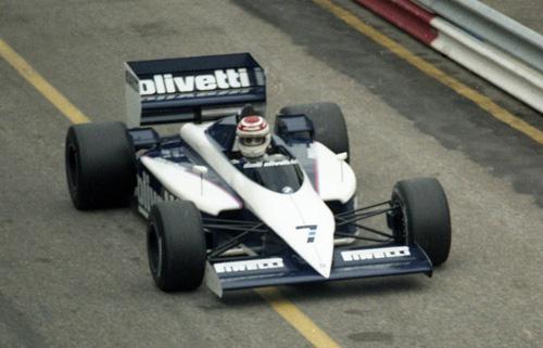 Nelson Piquet with Brabham-BMW BT54