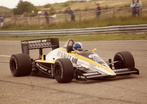 Derek Warwick with Renault RE60