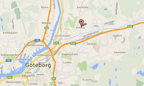 kviberg göteborg maps