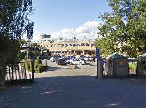 2014 - Kungl. Tennishallen on Lidingövägen in Stockholm (Google Streetview)