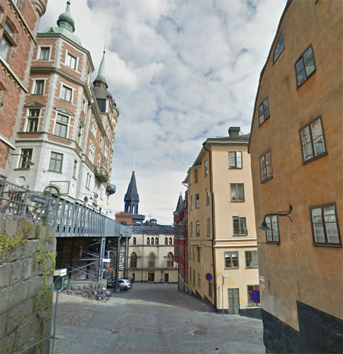 2014 - Bastugatan on Södermalm in Stockholm (Google Streetview)