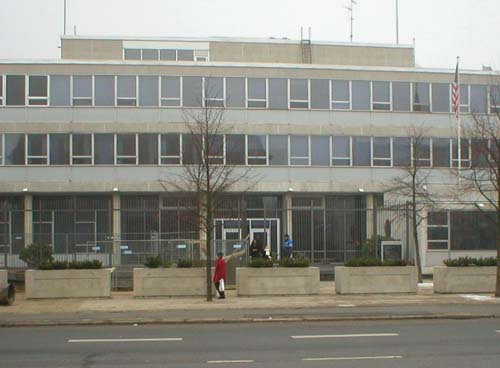 2014 - US Embassy at Dag Hammarskjölds Allé in Copenhagen - DK