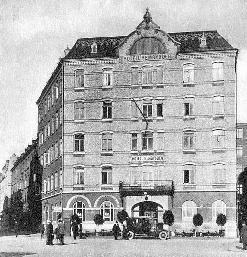 1914 - Hotell Hembygden in Göteborg