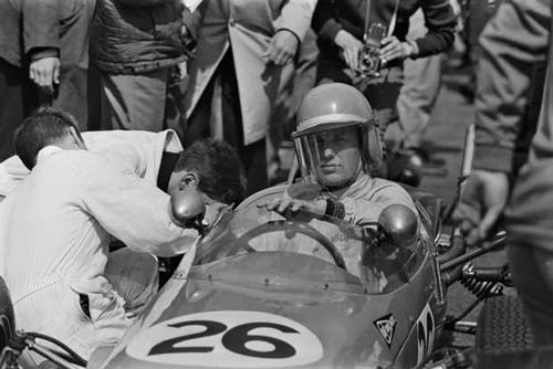 1965 - Rob Slotemaker with DAF at GP Zolder F3