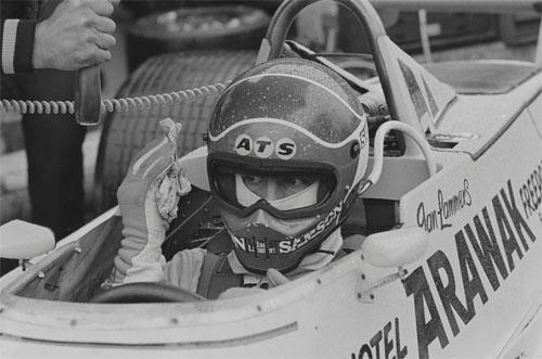 1980 - Jan Lammers in ATS D4 at Zolder Belgium