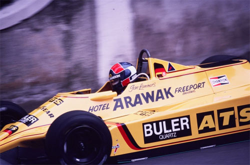 1980 - Jan Lammers with ATS at Monaco Grand Prix