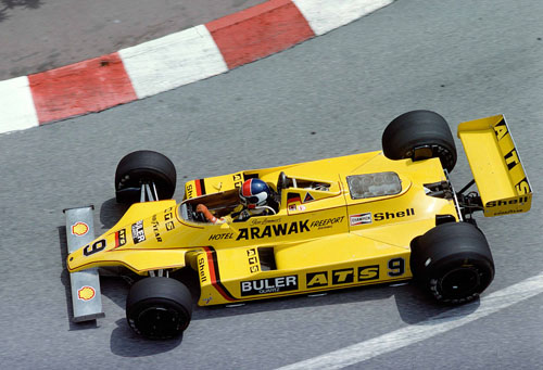 1980 - Jan Lammers with ATS at Monaco GP