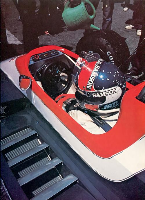 1980 - Jan Lammers with Ensign N180