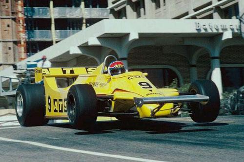 1981 - Jan Lammers with Team ATS - ATS D4