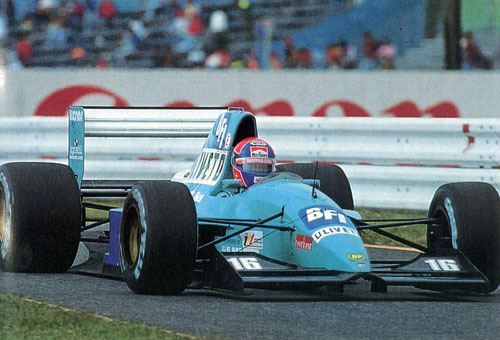 1992 - Jan Lammers with March F1 Team at Grand Prix Japan Suzuka