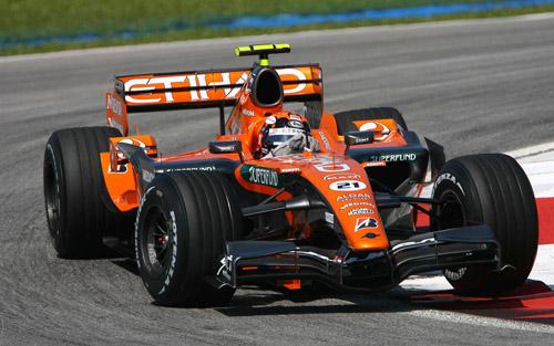 Spyker F1, equipe histórica de Formula 1 de 2007 - by fijen.se