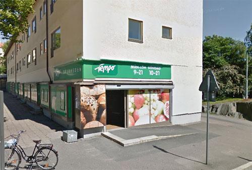 2015 - Guldhedstorget in Göteborg (Google Streetview)