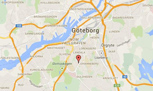 2015 - Guldhedstorget in Göteborg (Google Maps)