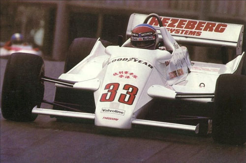 1982 - Jan Lammers with Theodore Racing Team - Theodore TY02