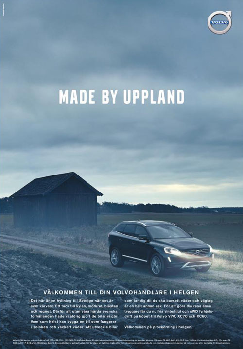 2015 - Made By Sweden - Made By Uppland - Volvo Sweden 2015 winter campaign.