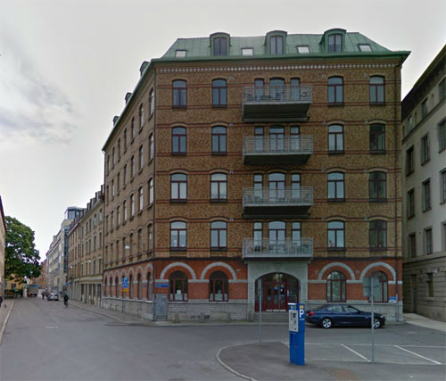 2015 - Packhusplatsen 4 in Göteborg (Google Streetview)