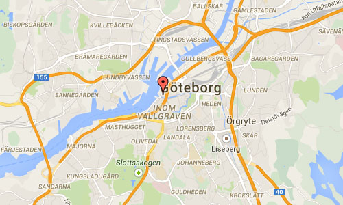 Packhusplatsen in Göteborg maps1
