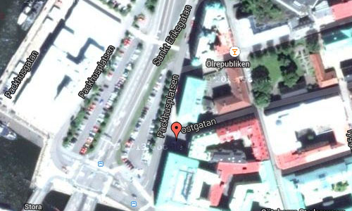 Packhusplatsen in Göteborg maps2