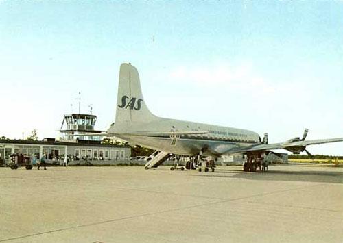 1962 - Visby Flygplats at Gotland