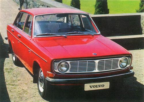 1967 - Volvo 144 at Tjolöholm in Kungsbacka