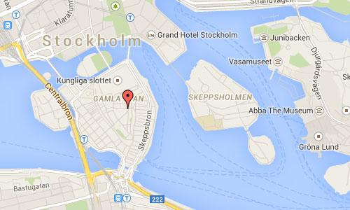 2015 - Köpmangatan Stockholm Maps1