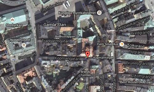 2015 - Köpmangatan Stockholm Maps2