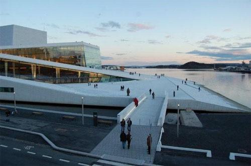 2015 - Operahuset in Oslo