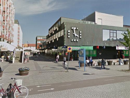 2015 - Wieselgrensplatsen in Göteborg (Google Streetview)