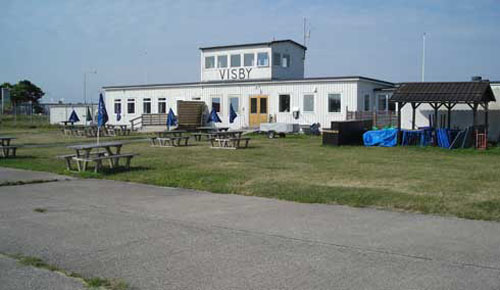 2011 - Old departure building at Visby Airport at Gotland