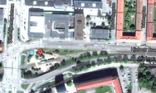 Wieselgrensplats in Göteborg Maps2