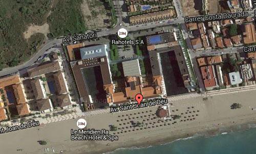 2015 - Playa de Tarragona El Vendrell  Google Maps02