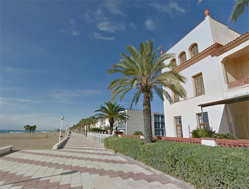 2015 - Playas de Tarragona in El Vendrell in Spain (Google Streetview)