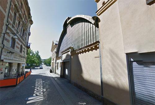 2015 - Magasinsgatan in Göteborg (Google Streetview)