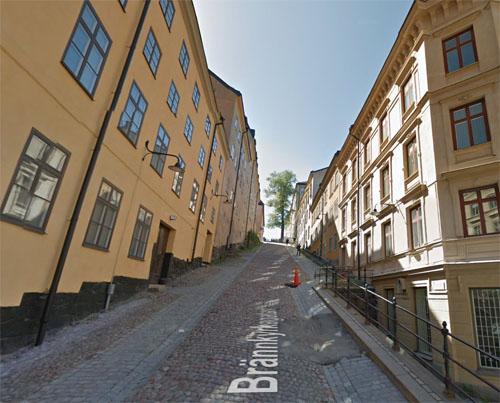 2015 - Brännkyrkagatan in Stockholm (Google Streetview)