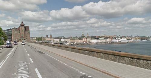 2015 - Katarinavägen in Stockholm (Google Streetview)