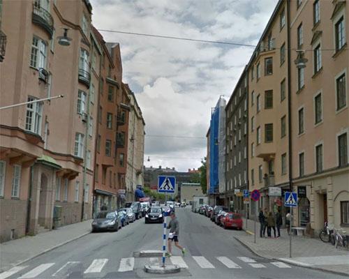 2015 - Rådmansgatan in Stockholm (Google Streetview)