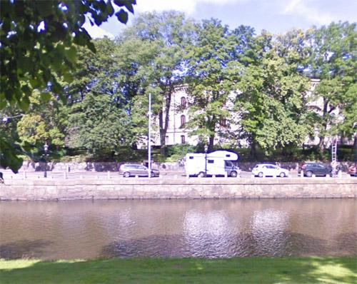 2015 - Sahlgrensgatan in Göteborg (Google Streetview)