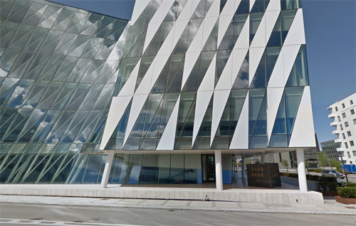 2015 - Saxo Bank HQ at  Philip Heymans Allé in Hellerup, north of Copenhagen, Denmark (Google Streetview)
