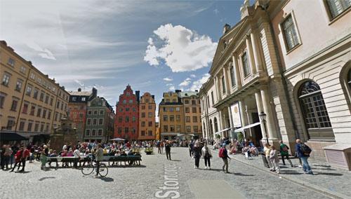 2015 - Stortorget in Stockholm (Google Streetview)