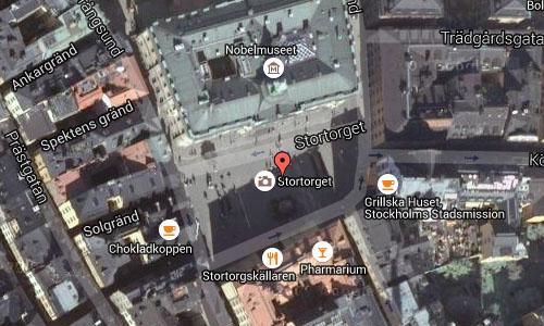 2015 - Stortorget in Stockholmmaps02