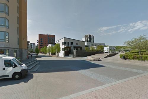 2016 - Manövergången in Göteborg (Google Streetview)