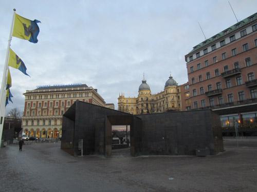2016 - Södra Blasieholmskajen in Stockholm (own photo)