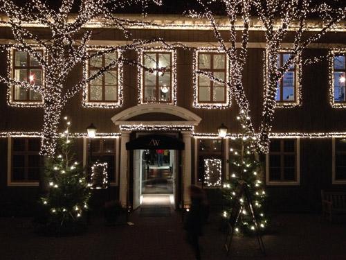 Julen at Lisebergs Wärdshus in Göteborg