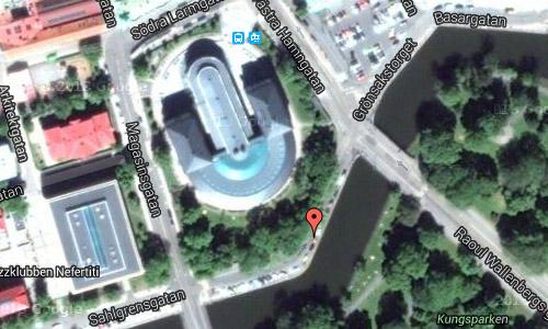 Sahlgrensgatan in Göteborg maps01